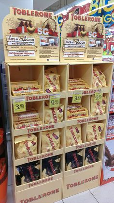 Toblerone I love SG Product Display Stand | The Selling Points