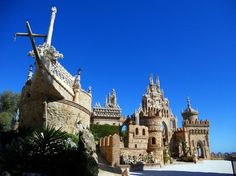 Colomares Castle - Benalmadena, Spain
