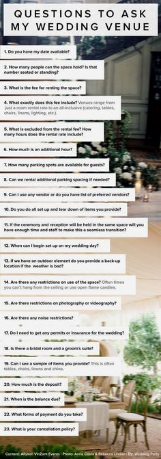 Perfect wedding venue. Many people assume selecting a wedding venue is painless. Well they are entirely wrong as deciding on the perfect wedding venue is definitely a daunting task.
