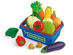 Let's Go Shopping Vegetable Basket