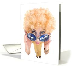 Happy Birthday Disco Humor card