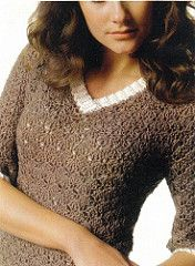This is the name for the V-necked pullover version of this pattern. The book includes other variations, including Jewel (crew neck), No Sweat (sweatshirt-like), Runaround (short sleeved), and Rah-Rah-Boon-Dee-Ay (V-neck with fancy fringed sleeves and bottom).