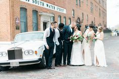 Gorgeous Bridal Party - Dresses by The Wedding Dress Shoppe & Men's Suits by Cape Fear Formal Wear - Knot Too Shabby Events Wilmington, NC Wedding & Event Coordination - Knot Too Shabby Events  Wilmington, NC Event Planning & Wedding Coordination