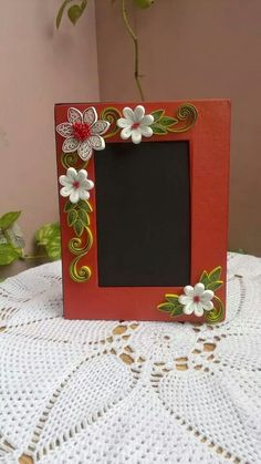 Quilled photo frames