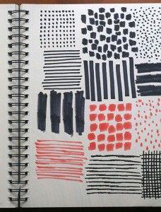 Building a Pattern Library (Jen Hewett) - The most creative designs Motifs Textiles, Textile Patterns, Print Patterns, Floral Patterns, Graphic Patterns, Pattern Library, Pattern Art, Line Design Pattern, Pattern Sketch