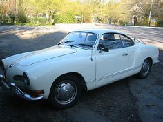 "Volkswagen Karmann Ghia, sometimes called the """"Poor man's Porsche. -- Car Pictures"