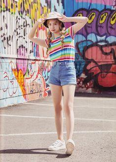 Twaii's Book #Dahyun #Twice Nayeon, Kpop Girl Groups, Korean Girl Groups, Kpop Girls, Kpop Fashion, Korean Fashion, Girl Fashion, Ioi Nayoung, Twice Album