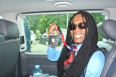 In limo on my way to perform at Reggae Jam in Germany. It was awesome. My #peterlloydfans & #lovers of my sweet #jamaican #reggae music went CRAZY as I performed. They #love me so much :)