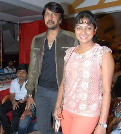 #Haripriya's chemistry with #Sudeep Kannada Movies, Chemistry, Fans, Ruffle Blouse, Club, Awesome, Women, Fashion, Moda