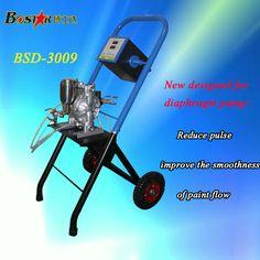 Push hand integrated machine decrease the diaphragm pump pulse electrostatic paint zoom