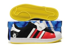 Disney x Adidas Superstar II Mickey Mouse Shoes  haha awesome :D