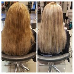 Before and after #ecaille