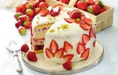 Tort z mascarpone i galaretką
