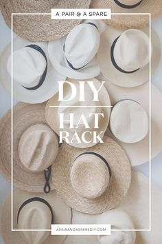diy-hat-rack
