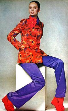 Lynn Woodruff photographed by Penati, Vogue US January 1972