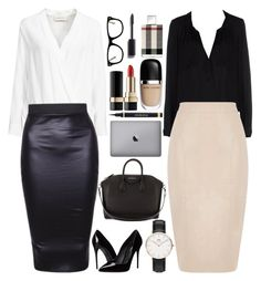 """""""Work work work work work"""" by xxtraceyxx on Polyvore featuring By Malene Birger, Daniel Wellington, Milly, Oasis, Dolce&Gabbana, Givenchy, Chanel, Yves Saint Laurent, Marc Jacobs and Burberry"""