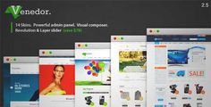 Download and review of Venedor - WordPress + WooCommerce Theme, one of the best Themeforest eCommerces themes