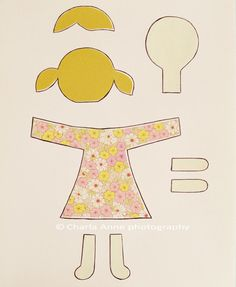 Pattern for felt doll