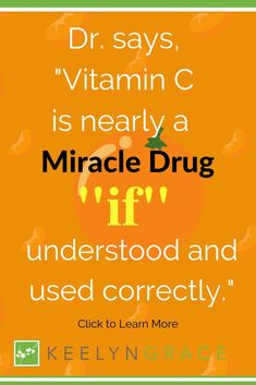 "You may have tried improving your skin with Vitamin C before—and we're betting it didn't work.  Most people hear that they should use or take vitamin C so they run down to the drugstore and buy some Vitamin C capsules off the counter. They go home and start taking their new Vitamin C capsule, only to give up 30 days later because they never saw any change. Learn how to get the ""miracle"" results Dr. Shirley Madhere and Dr. Leif Rogers talk about. Click to read more. #skincare #keelyngrace All Things Beauty, Beauty Tips, Beauty Hacks, Healthy Skin Tips, Healthy Beauty, Hacks Every Girl Should Know, Vitamins For Women, Anti Aging Moisturizer, Wellness Tips"
