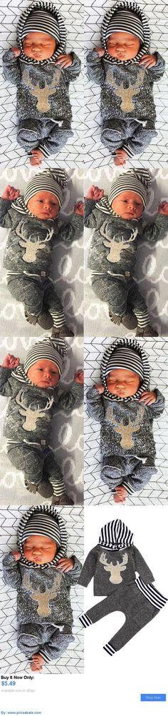 Baby Girls Clothing: Newborn Baby Girl Boy Clothes Deer Tops T-Shirt Pants Leggings 2Pcs Outfits Set BUY IT NOW ONLY: $5.49 #priceabateBabyGirlsClothing OR #priceabate