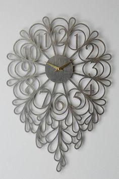 Sarah Mimo Gatehouse Wall Clock, Vines