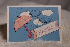 Eine Karte passend zum Regenwetter - Brigittes Stempelstelle Alles rund ums Basteln mit Stampin Up Produkten