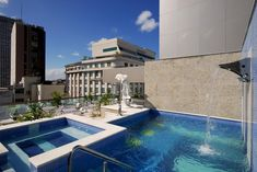 Hotel Atlântico Business is located in downtown Rio de Janeiro, 200 metres from the stately Theatro Municipal. Outdoor Swimming Pool, Swimming Pools, Mozambique Beaches, Best Travel Sites, Cosy Lounge, Copacabana Beach, Luxury Accommodation, Workout Rooms, Sitting Area