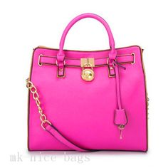 Michael Kors Hamilton Specchio Large Pink Totes Is On Hot Sale, A Good Chance Gives You! #CelebrateWith #WhatsInYourKors