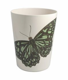 Metamorphosis Green Wastebasket design by Thomas Paul