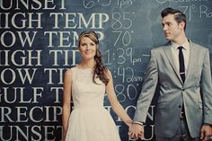 Very playful, mid-century modern inspired wedding, photos by Our Labor of Love