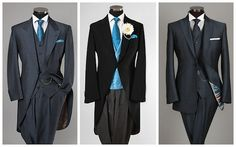 Groom suit on the right-swoon!