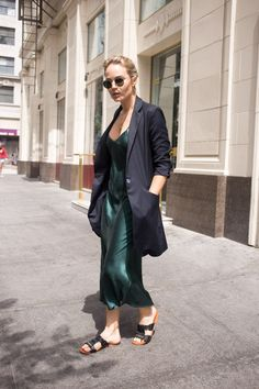 Our Tribute to Brooke Testoni's Winning Street Style via @WhoWhatWearAU