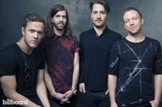 Imagine Dragon's Dan Reynolds, Wayne 'Wing' Sermon, Daniel Platzman and Ben Mckee
