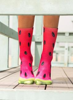 e399da8830c Watermelon Socks Unisex Crew Sock