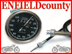REPLICA SMITH SPEEDOMETER SPEEDO 0-120 Mph + 54  CABLE BSA ENFIELD ARIEL Bsa Motorcycle, Royal Enfield, Ariel, Cable, Ebay, Cabo, Cords, Electrical Cable, Cord