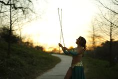 Sunset Shot as I spin my double cane. Spin Me, Dance World, Oriental, Shots, Sunset, Sunsets, The Sunset