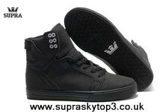 Authentic Supra Men's Skytop Black/Black