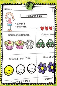 Kindergarten Tarea de Matematicas! Math homework in Spanish for kindergarteners! Great for morning work and for math centers. Perfect for spiral reviews! Kindergarten Math Activities, Teaching Math, English Homework, Addition Words, Adding And Subtracting, 1st Grade Math, Morning Work, How To Speak Spanish, Anchor Charts
