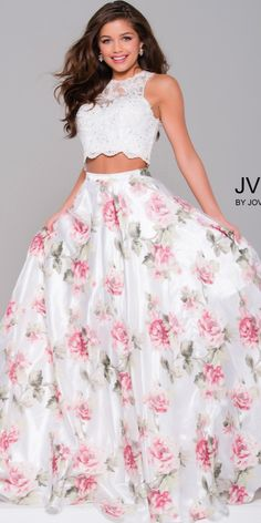 JVN by Jovani JVN41771 Print Dress