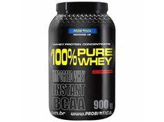 Whey Protein 100% Pure Whey Morango 900g com as melhores condições você encontra no site do Magazine Luiza. Confira!
