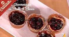 Mini Cheesecake ai Frutti di Bosco | la ricetta di Benedetta Parodi