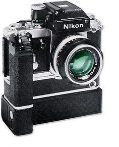 Nikon F2 avec MD-2