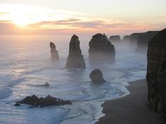 12 Apostles. Great Ocean Road. Victoria, Australia. I'm going to Melbourne NEXT WEEK!!!!!!