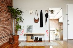Awesome Entryway - Anatomy of A Room - Photos