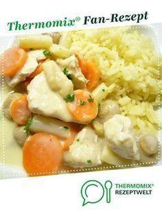 Hühnerfrikasee von Horror Oma. Ein Thermomix ® Rezept aus der Kategorie Hauptgerichte mit Fleisch auf www.rezeptwelt.de, der Thermomix ® Community.