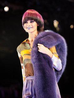 2012 ROXY rocks the runway at the Wella International TrendVision Award 2011 in NYC! #hair #fashion