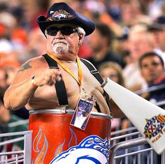 2. No one compares to the ultimate super-fan, the Barrel Man.