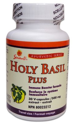 Holy #Basil, Formulated with a synergy of other Ayurvedic herbs for maximum benefit. Helps to maintain mental balance when used regularly