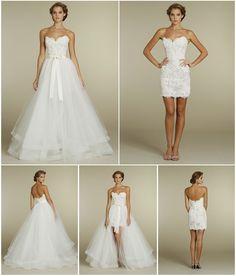 Vestidos de novia convertibles