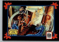 1991 Impel Trading Card Treats Nintendo Zelda II: Link and Spryte @ niftywarehouse.com #NiftyWarehouse #Geek #Zelda #Products #LegendOfZelda #Nintendo